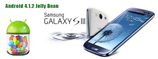 Galaxy S3 Android 4.1.2 Jelly Bean update
