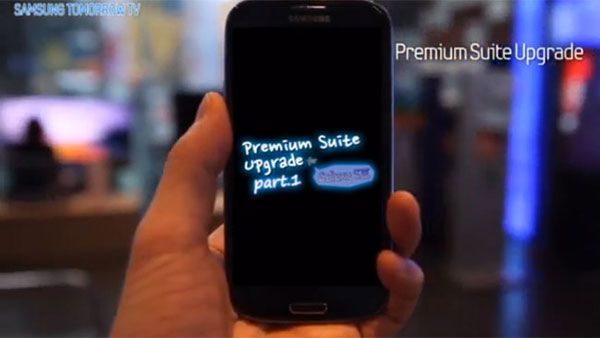 Galaxy S3 Premium Suite upgrade