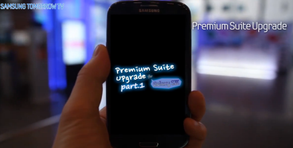 Samsung Galaxy S3 Premium Suite Update