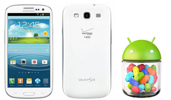 galaxy s3 verizon update to jelly bean
