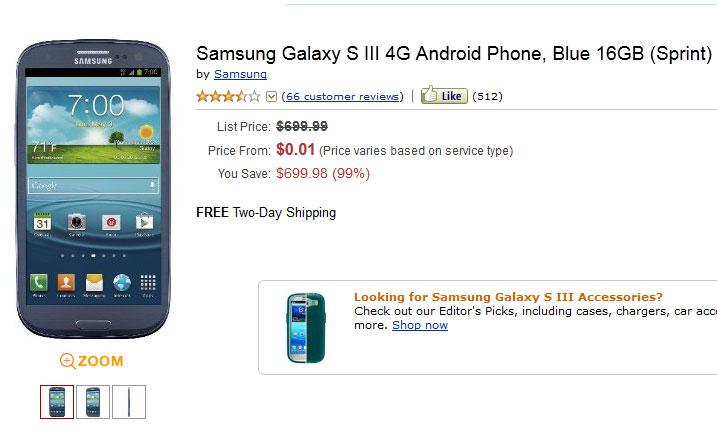 Galaxy S3 Sprint
