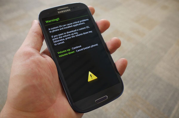 android download mode How to Root Samsung Galaxy S3 Safely and Quickly