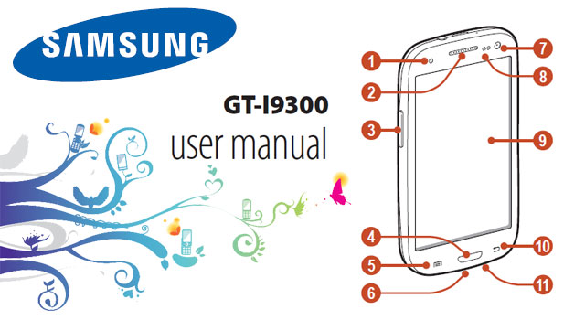 samsung galaxy s3 user manual Samsung Galaxy S3 Manual User Guide for Galaxy S3 GT i9300