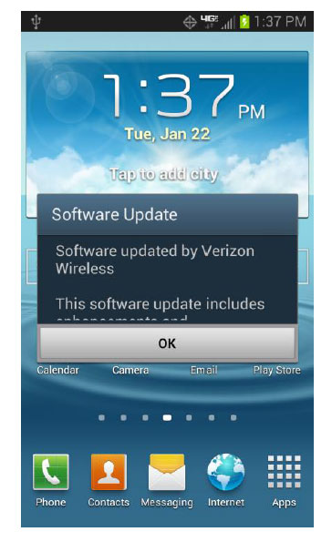 verizon galaxy s3 update