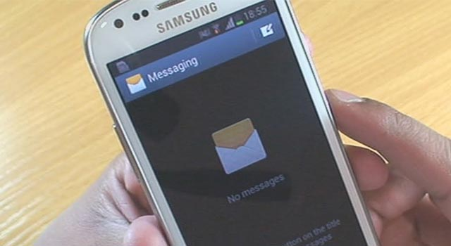 galaxy s3 always show unread SMS messages
